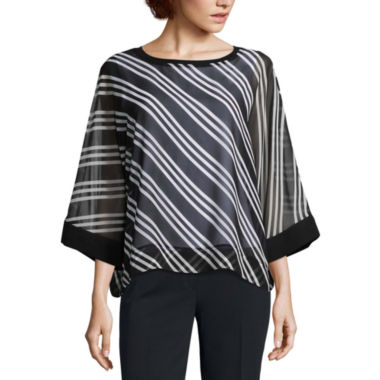 Worthington Volume Sleeve Top