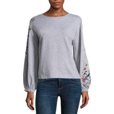 a.n.a Embroidered Sweatshirt