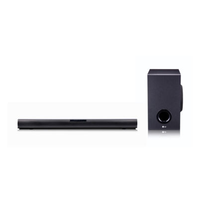 LG 2.1 Channel 160W Sound Bar with Subwoofer and Bluetooth Connectivity