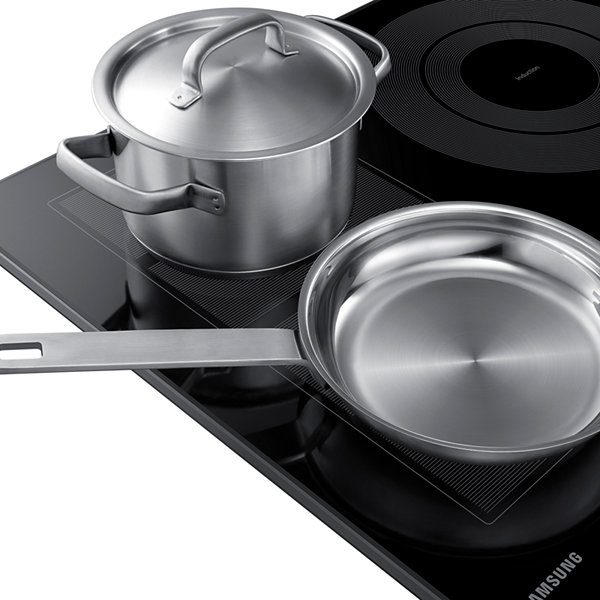 "Samsung 30"" Induction Cooktop with 4 Elements and Virtual Flame™"