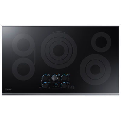 """Samsung 36"""" Ceramic Electric Cooktop with 5 Elements, including Rapid Boil™ and Wi-Fi"""