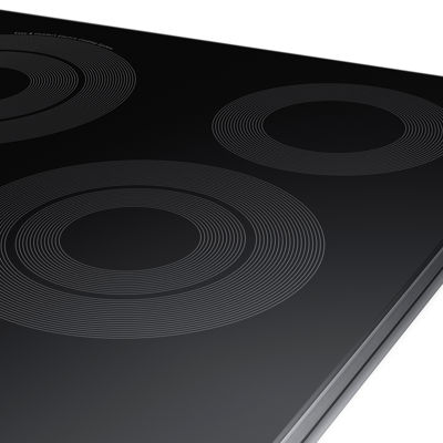 "Samsung 30"" Ceramic Electric Cooktop with 5 Elements, including Rapid Boil™ and Wi-Fi"