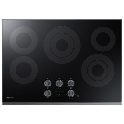 """Samsung 30"""" Smart Wi-Fi Enabled Ceramic Electric Cooktop with 5 Elements and Rapid Boil™"""