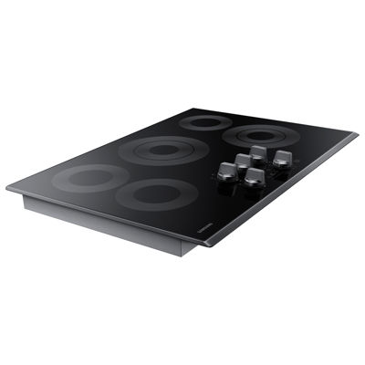 "Samsung 30"" Ceramic Electric Cooktop with 5 Elements and Rapid Boil™"