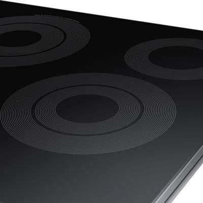 "Samsung 30"" Smart Wi-Fi Enabled Ceramic Electric Cooktop with 5 Elements and Rapid Boil™"