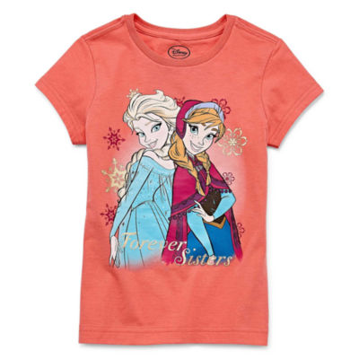 Disney Frozen Graphic T-Shirt-Big Kid