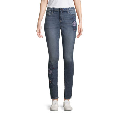 St. John's Bay Novelty Skinny Jean - Tall