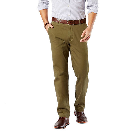 Dockers® D2 Washed Khaki Straight Fit Pants