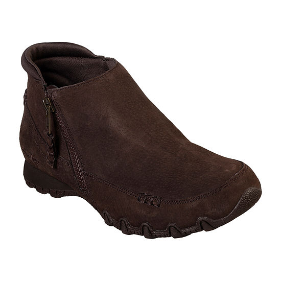Skechers Womens Bikers - Zippiest Booties