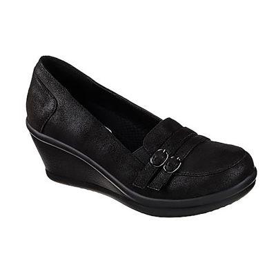 Skechers Rumblers Womens Walking Shoes Slip-on