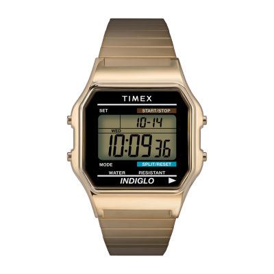 Timex® Mens Two-Tone Core Digital Watch T786779J