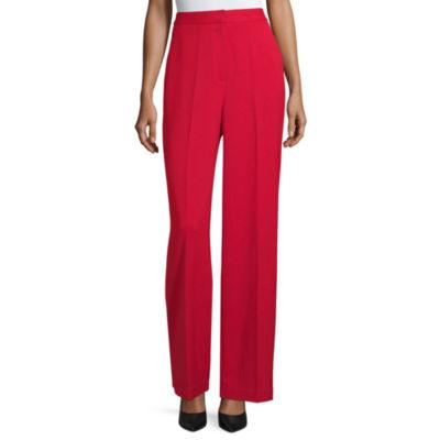 Worthington Womens Wide Leg Trouser-Tall