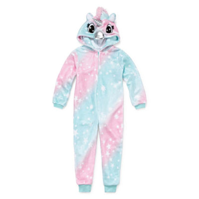 Jammers Kids Long Sleeve One Piece Pajama - Toddler Girls 2T-3T