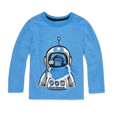 Okie Dokie Space 3D Graphic T-Shirt-Toddler Boys