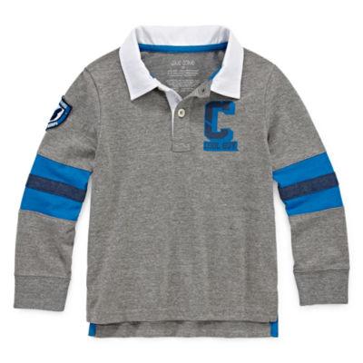 Okie Dokie Rugby Shirt-Toddler Boys