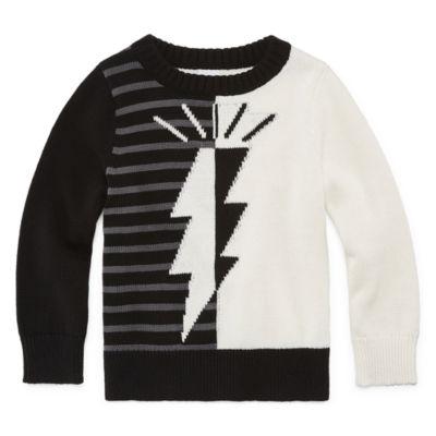 Okie Dokie Pullover Sweater-Toddler Boy