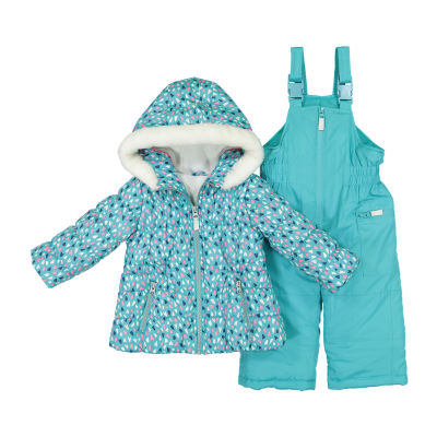 Carter's 2-pc. Coat & Snow Suit Set - Baby Girls