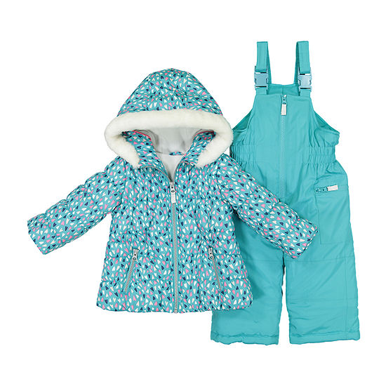3749e6b50 Carter s 2-pc. Coat   Snow Suit Set - Baby Girls - JCPenney