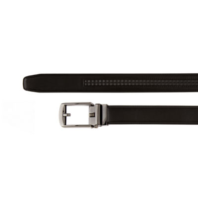 Shaquille O'Neal XLG Men's Click to Fit Reversible Belt
