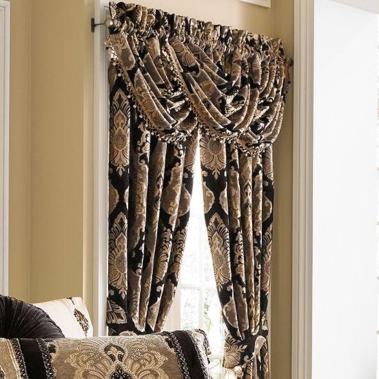 Queen Street Brooke 2 Pair Rod-Pocket Curtain Panels