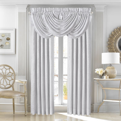 Queen Street Courtney 2 Pair Rod-Pocket Curtain Panels