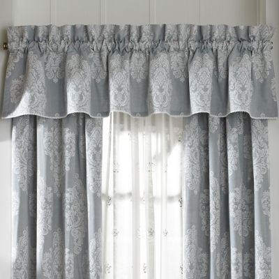 Queen Street Amelia Rod-Pocket Tailored Valance