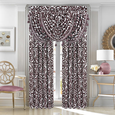 Queen Street Sarah 2 Pair Rod-Pocket Curtain Panels