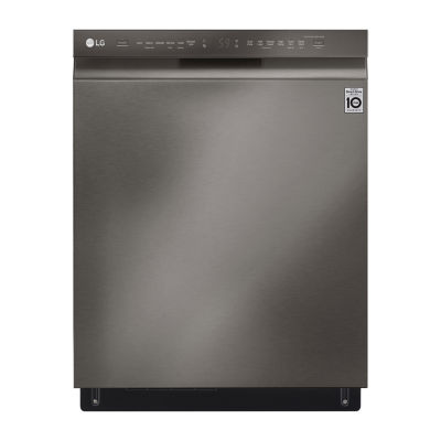 LG ENERGY STAR®  Front Control Smart Wi-Fi Enabled Dishwasher with QuadWash™