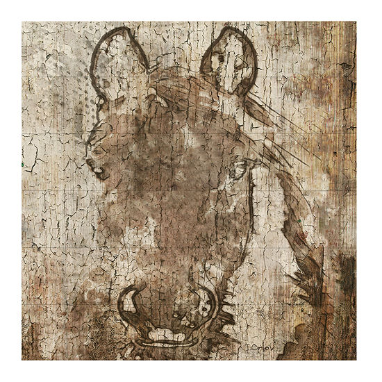 Horse Shadow Queen Wall Sign