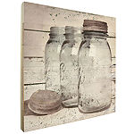 Farmhouse Vintage Mason Jars Wall Sign