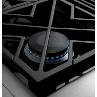 "Café™ 48"" Dual-Fuel Professional Range with 6 Burners and Griddle (Natural Gas)"