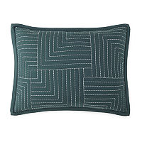 Home Expressions Zen Garden Quilt, One Size , Green