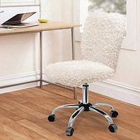 Urban Shop Faux Fur Task Office Chair