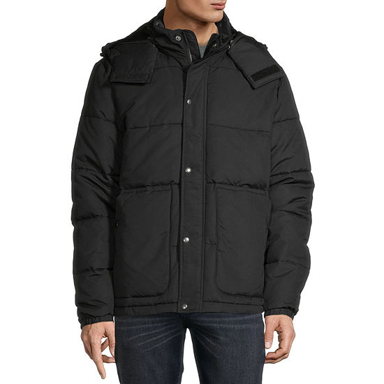 St. John's Bay Microfiber Heavyweight Puffer Jacket