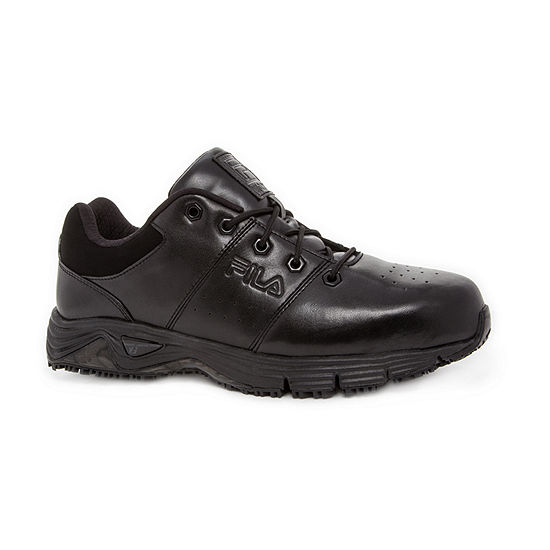 Fila Memory Breach Slip Resistant Steel Toe Low Mens Sneakers