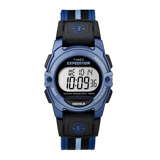 Timex® Expedition® Womens Striped Nylon Strap Sport Watch TW4B02300