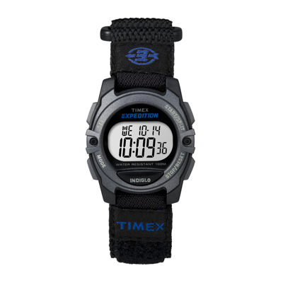 Timex® Expedition® Womens Black Nylon Strap Sport Watch TW4B02400