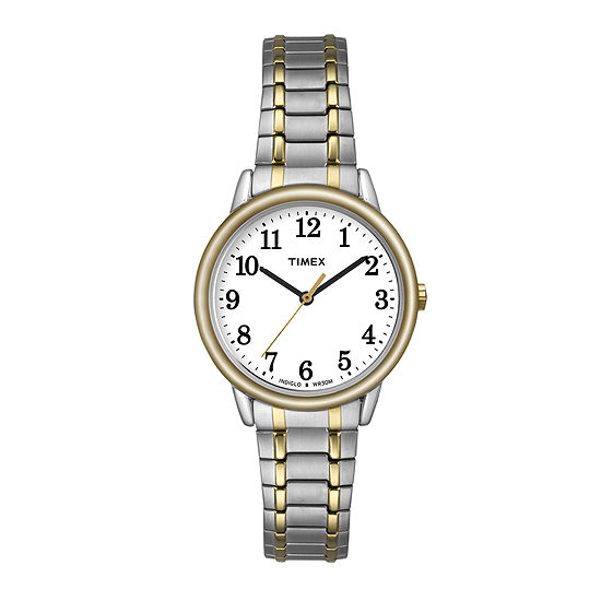 Timex® Easy Reader Womens Two-Tone Stainless Steel Expansion Watch TW2P78700