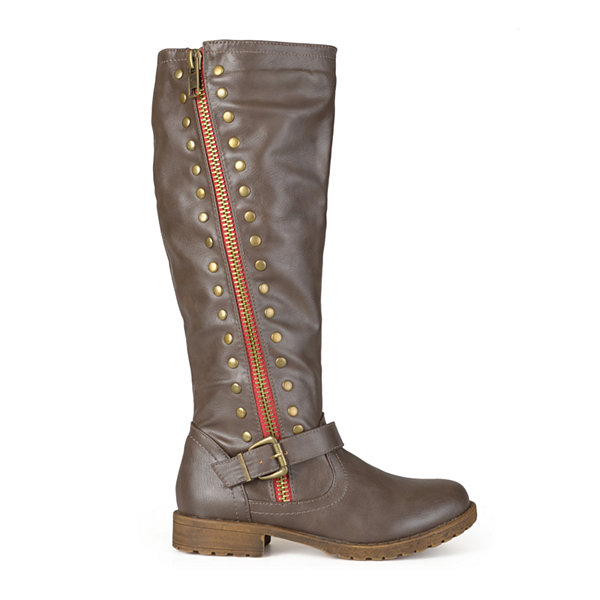 Journee Collection Tilt Knee-High Riding Boots