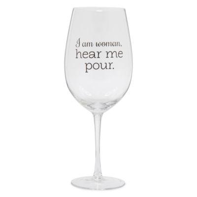 Wembley™ Graphic Mega Wine Glass