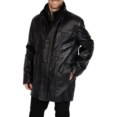 Excelled® Leather Car Coat
