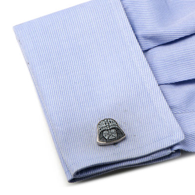Star Wars™ Darth Vader Typography Cuff Links