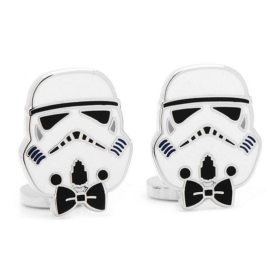 Star Wars™ Storm Trooper Bow Tie Cuff Links