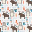 Trend Lab Scandi Forest Jumbo Flannel  Swaddle Blanket