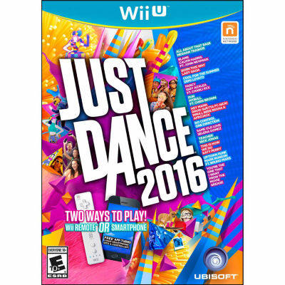 Just Dance 2016 Video Game-Wii U
