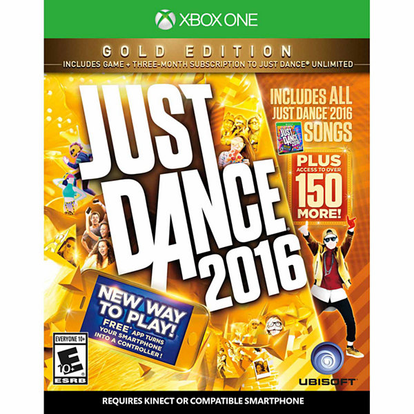 XBox One Just Dance 2016 Gold Video Game