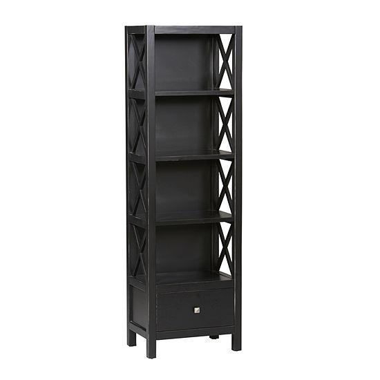 Anna 5-Shelf Standard Bookshelf