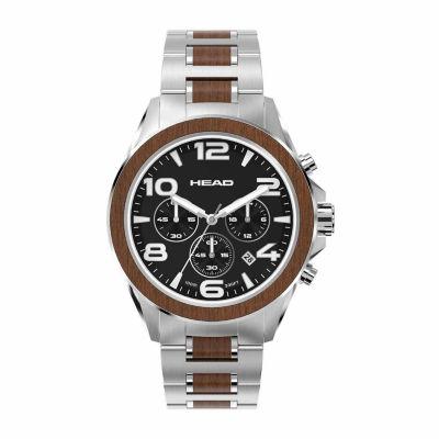 Head Heritage Mens Two Tone Bracelet Watch-He-001-01