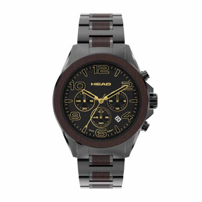 Head Heritage Mens Two Tone Bracelet Watch-He-001-05