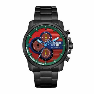 Head Topspin Mens Black Bracelet Watch-He-003-04